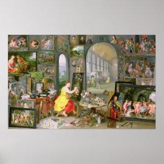 Alegoría de la pintura 2 impresiones