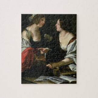Alegoría de la pintura y de la arquitectura, c.162 rompecabeza