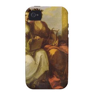 Alegoría de la poesía y de la música por la iPhone 4 funda