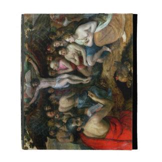 Alegoría de la trinidad (aceite en el panel)