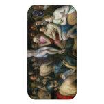 Alegoría de la trinidad (aceite en el panel) iPhone 4/4S fundas