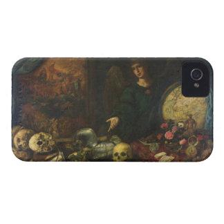 Alegoría de la vanidad, 1650-60 (aceite en lona) iPhone 4 Case-Mate funda
