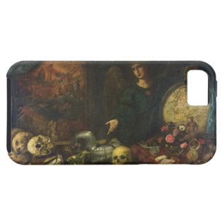 Alegoría de la vanidad, 1650-60 (aceite en lona) iPhone 5 carcasa