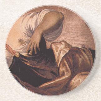 Alegoría de la verdad por Tintoretto Posavasos Manualidades