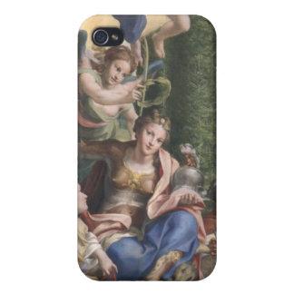 Alegoría de las virtudes, c.1529-30 iPhone 4 funda