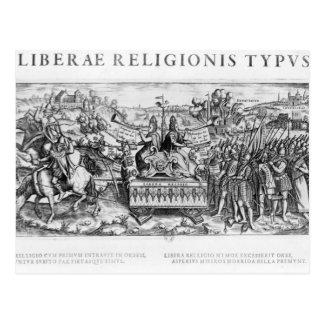 Alegoría de Librae Religionis Typus', Tarjeta Postal
