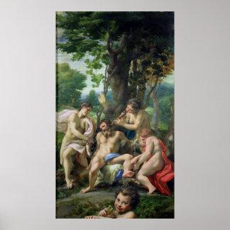 Alegoría de los vicios, 1529-30 póster
