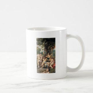 Alegoría de los vicios por Correggio Taza De Café