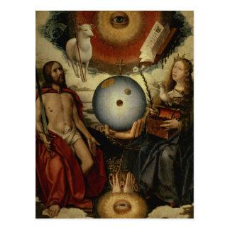 Alegoría del cristianismo postal