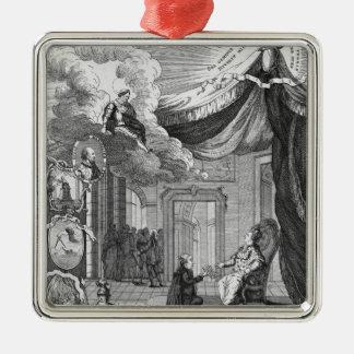 Alegoría del informe dado a Louis XVI Adornos