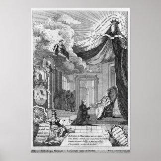 Alegoría del informe dado a Louis XVI Póster