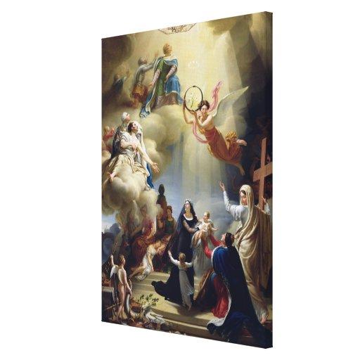 Alegoría en honor del nacimiento de Enrique de Lienzo Envuelto Para Galerias