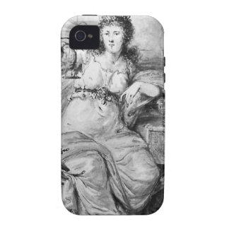 Alegoría en la moneda de Dordrecht de Abraham van iPhone 4/4S Fundas