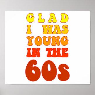 Alegre era joven en los años 60 póster