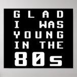Alegre era joven en los años 80 poster