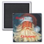 Alegre-Viejo-Santa, feliz, imán del navidad