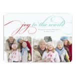 alegría 5 x 7 a la tarjeta del día de fiesta de la comunicados personales