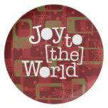 Alegría al mundo platos