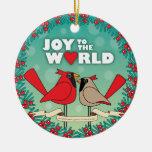 alegría al ornamento del navidad del mundo ornamento para arbol de navidad