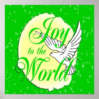 Alegría al poster del mundo