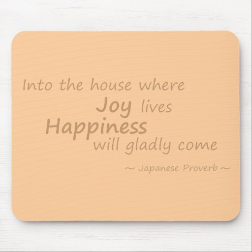 Alegría, amarillo de la felicidad alfombrilla de raton