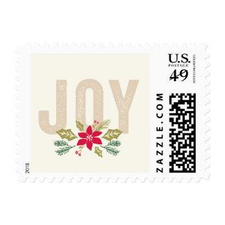 Alegría apenada timbres postales