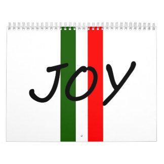 Alegría Calendarios De Pared
