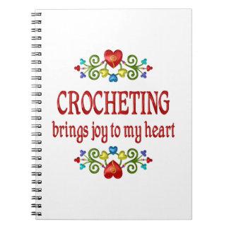 Alegría Crocheting Libreta