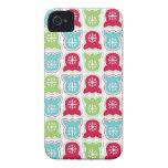 Alegría de Furby iPhone 4 Case-Mate Cárcasas