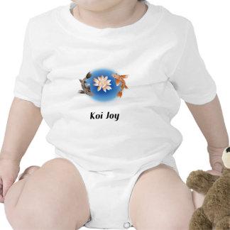 Alegría de Koi Trajes De Bebé