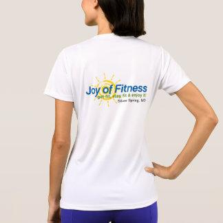 Alegría de la camisa del entrenamiento de la