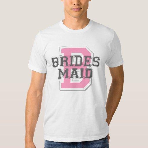 Alegría de la criada de las novias remeras
