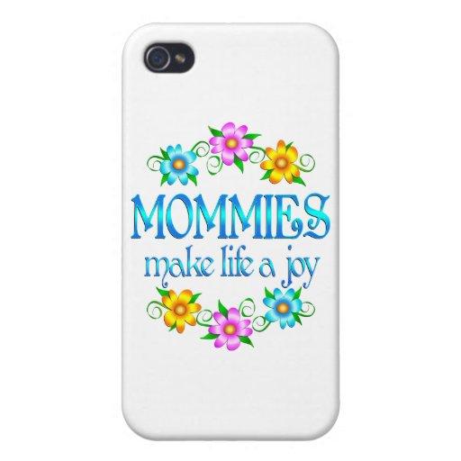 Alegría de la mamá iPhone 4 coberturas