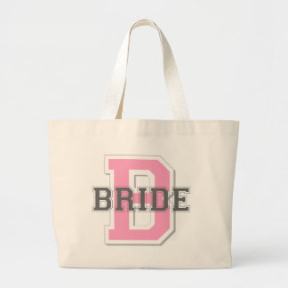 Alegría de la novia bolsa tela grande