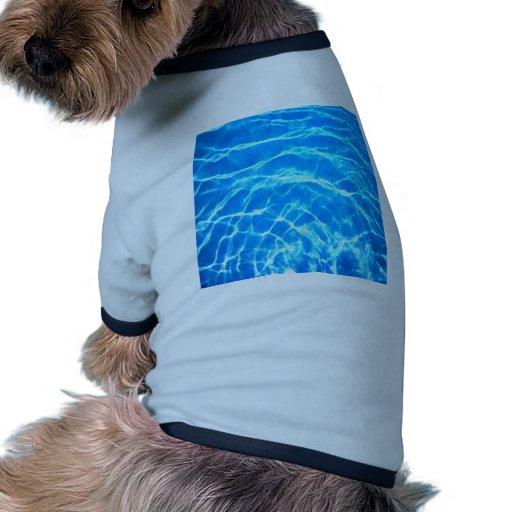 alegría de la paz del agua camisa de mascota