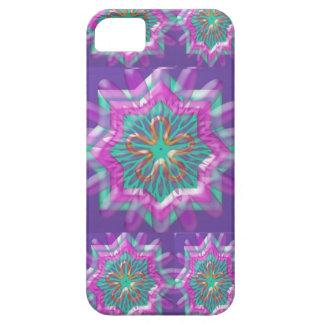 Alegría de la paz n: Constelación púrpura santa de iPhone 5 Funda