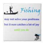 alegría de la pesca tejas