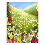 Alegría de la primavera membrete personalizado
