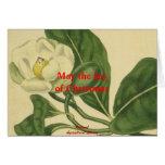 Alegría de la tarjeta botánica del navidad