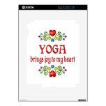 Alegría de la yoga calcomanías para iPad 2