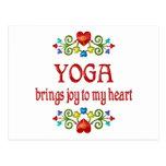Alegría de la yoga postal