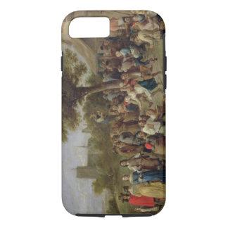 Alegría de los campesinos, c.1650 (aceite en lona) funda iPhone 7