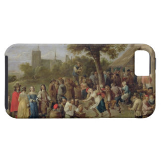 Alegría de los campesinos, c.1650 (aceite en lona) funda para iPhone SE/5/5s