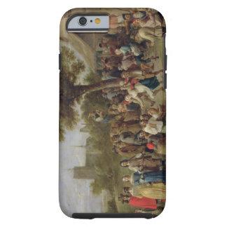 Alegría de los campesinos, c.1650 (aceite en lona) funda resistente iPhone 6