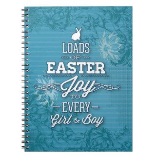 Alegría de Pascua Libros De Apuntes Con Espiral