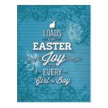 Alegría de Pascua Postales