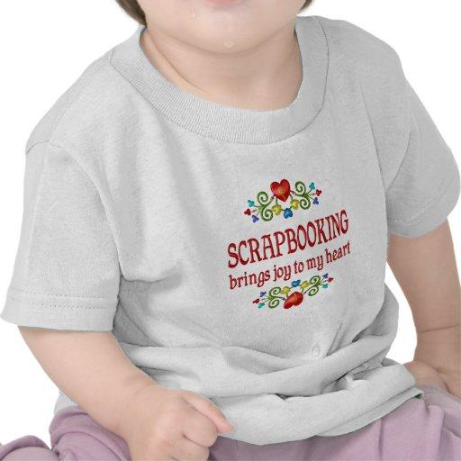 Alegría de Scrapbooking Camiseta