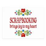 Alegría de Scrapbooking Tarjetas Postales