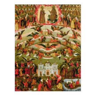 Alegría de todos que Virgen del dolor 1707 Postal