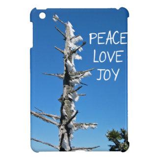 Alegría del amor de la paz - árbol Spruce simple